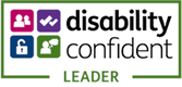 Logo: Disability Confident Leader